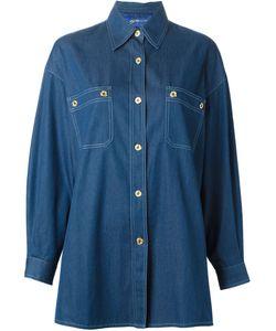 GUY LAROCHE VINTAGE | Джинсовая Рубашка Свободного Кроя