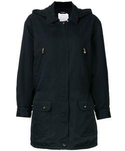 Chanel Vintage | Cc Zip-Up Hood Jacket 42