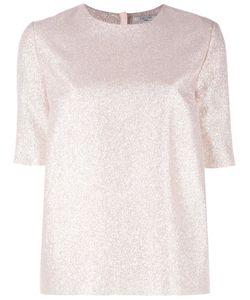 Lanvin | Glitter T-Shirt 36 Silk/Polyester