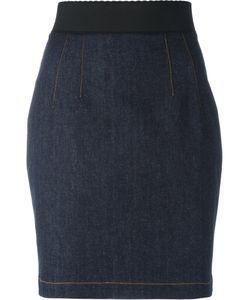 Dolce & Gabbana | Short Skirt 38 Cotton/Polyester/Spandex/Elastane