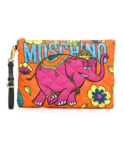 Moschino | Crowned Elephant Clutch Polyester