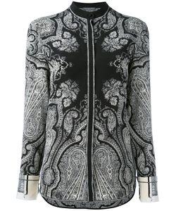 Alexander McQueen   Рубашка С Цветочным Узором