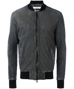 Giorgio Brato | Zipped Jacket 52 Leather/Acetate/Polyester