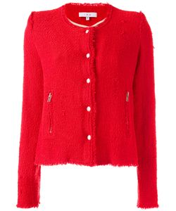 Iro | Zip Pocket Tweed Jacket Size 40