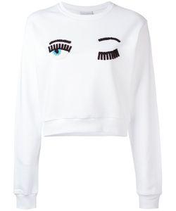 Chiara Ferragni | Eyes Print Sweatshirt Size Xs