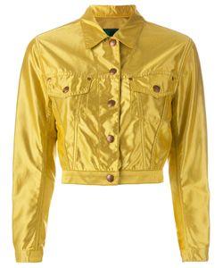JEAN PAUL GAULTIER VINTAGE   Cropped Sheen Jacket Size