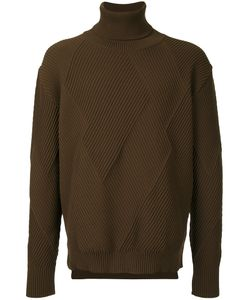 EDUCATION FROM YOUNGMACHINES   Textured Turtleneck Men
