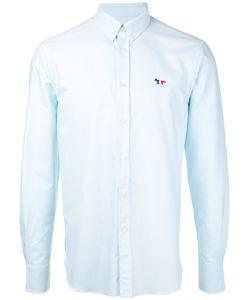 Maison Kitsune | Maison Kitsuné Embroidered Fox Button-Down Shirt