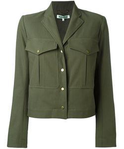 Kenzo | Cropped Military Jacket Size 40