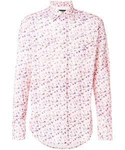 Dsquared2 | Вельветовая Рубашка С Цветочным Принтом