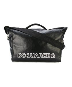 Dsquared2 | Nero Duffel Bag Cotton/Polyurethane