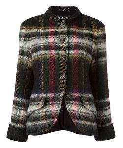 Chanel Vintage | Plaid Jacket Size