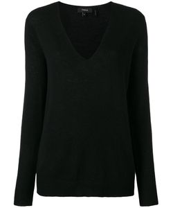 Theory | V-Neck Jumper Small Cashmere