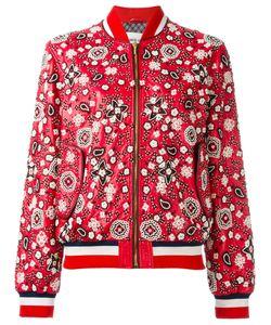 Michel Klein | Embellished Bomber Jacket 40 Lamb Skin