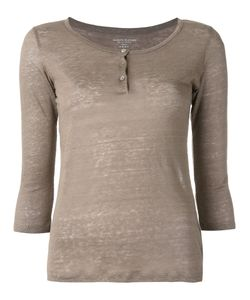 MAJESTIC FILATURES   Henley Longsleeved T-Shirt Size 1