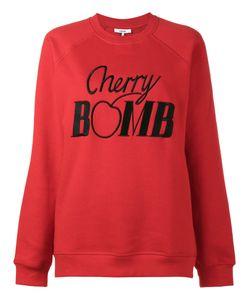 Ganni | Sweatshirt With Cherry Bomb Embroidery
