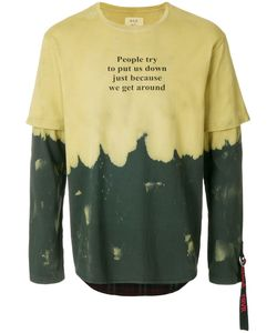 SOLD OUT FRVR | Layered Sleeve Quote T-Shirt Men