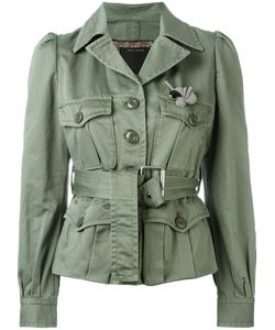 Marc Jacobs | Sateen Belted Jacket 4
