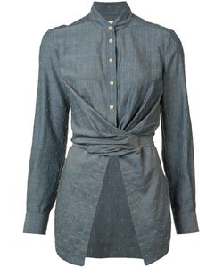 Yigal Azrouel | Bow Tie Wrap Blouse