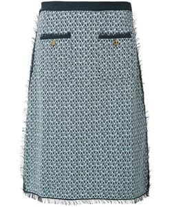Thom Browne | Tweed Pencil Skirt 38 Cotton