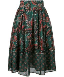 Muller Of Yoshiokubo | Leaf Print Full Skirt