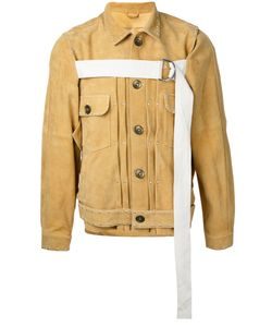 Maison Mihara Yasuhiro | Front Strap Buttoned Jacket Size 46