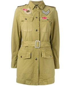 MR & MRS Italy | Куртка В Стиле Милитари С Поясом