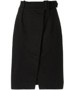 EGREY | High Waisted Skirt 40 Cotton/Spandex/Elastane