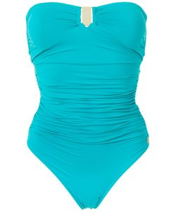 Brigitte | Draped Swimsuit P Polyamide/Spandex/Elastane