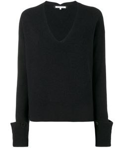 Helmut Lang | V-Neck Jumper Medium Cotton/Wool/Cashmere