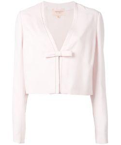 Giambattista Valli | Cropped Bow Jacket Size 42