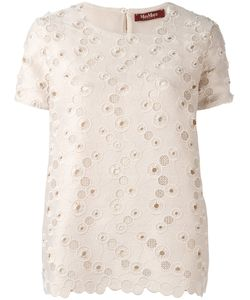 Max Mara | Embroidered Top S
