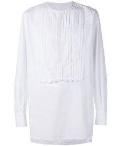 Nostra Santissima | Detailed Placket Shirt 50 Cotton