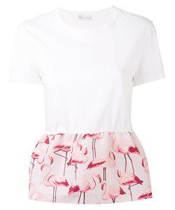 Red Valentino | Flamingo Peplum Top