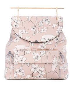 M2Malletier | Рюкзак С Цветочным Принтом