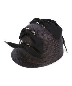 FEDERICA MORETTI | Bow Embellished Hat