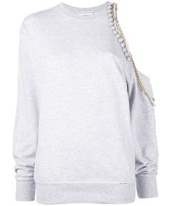 FORTE COUTURE | Chained Asymmetric Sweatshirt