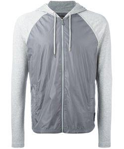 Michael Kors | Contrast-Panel Hooded Sweatshirt Size Small
