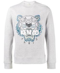 Kenzo   Tiger Logo Sweatshirt Xl Cotton