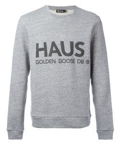 Haus By Ggdb | Logo Print Sweatshirt Size Large
