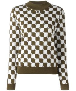 Courreges | Courrèges Checked Sweater 3 Merino