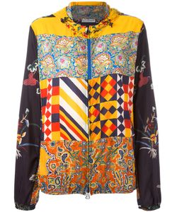 PIERRE-LOUIS MASCIA | Printed Hooded Jacket Size Large