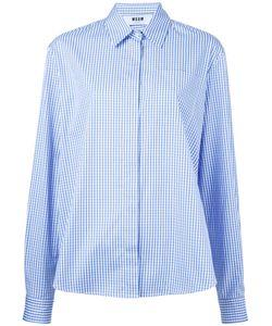 MSGM | Рубашка С Клетку