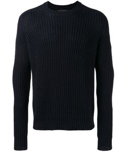 IRIS VON ARNIM | Open Knit Jumper Large Cotton/Cashmere