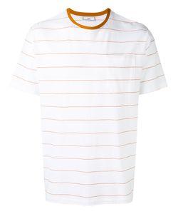 Ami Alexandre Mattiussi | Chest Pocket Striped T-Shirt Size Large
