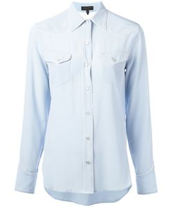 Rag & Bone | Piped Trim Shirt Size Medium