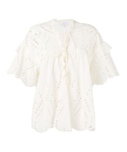 Iro | Broderie Anglaise Blouse 36