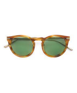 Bottega Veneta Eyewear | Солнцезащитные Очки С Круглой Оправой