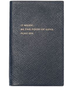 Smythson   If Music Be The Food Of Love Book