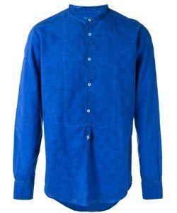 Massimo Alba | Band Collar Shirt Size Large